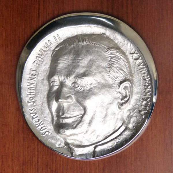Papa Giovanni Paolo II - Bassorilievo