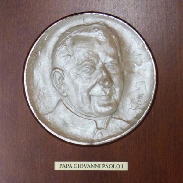 Papa Giovanni Paolo I - Bassorilievo