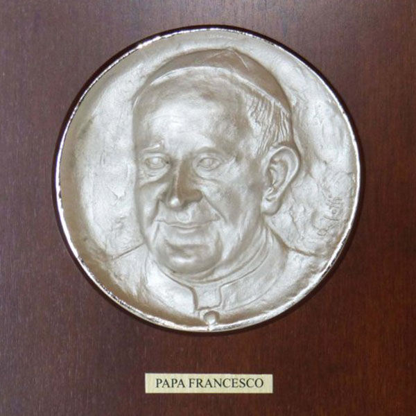 Papa Francesco - Bassorilievo