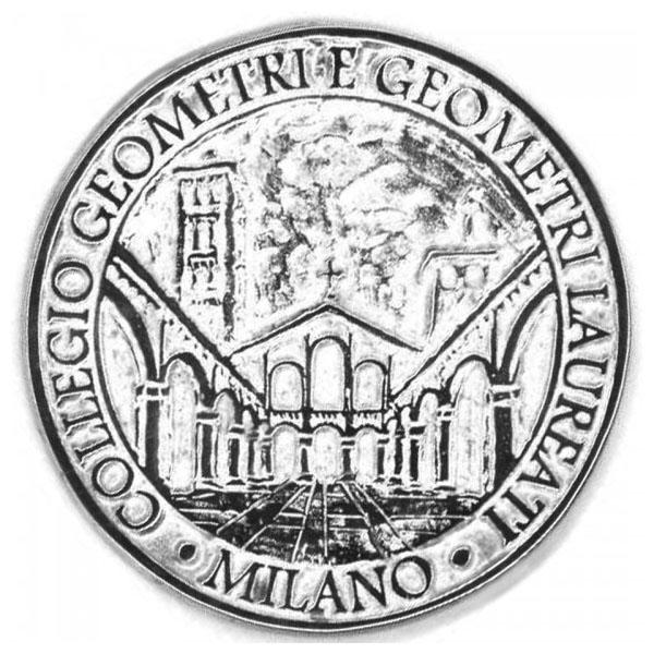 Collegio Geometri Milano Medaglia