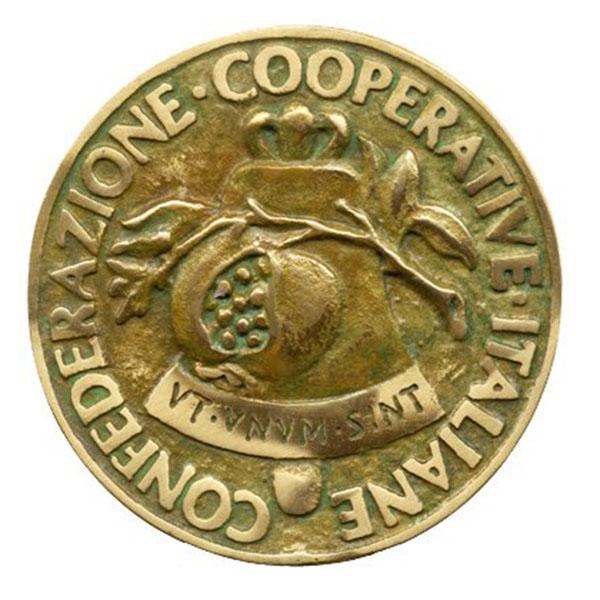 Confederazione Cooperative Italiane Medaglia