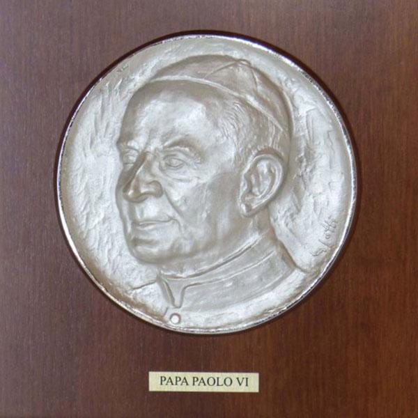 Papa Paolo VI - Bassorilievo