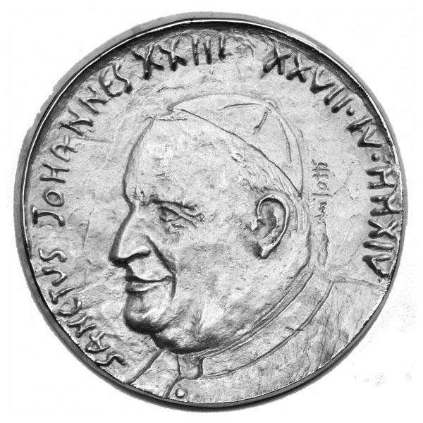 Papa Giovanni XXIII - Medaglia