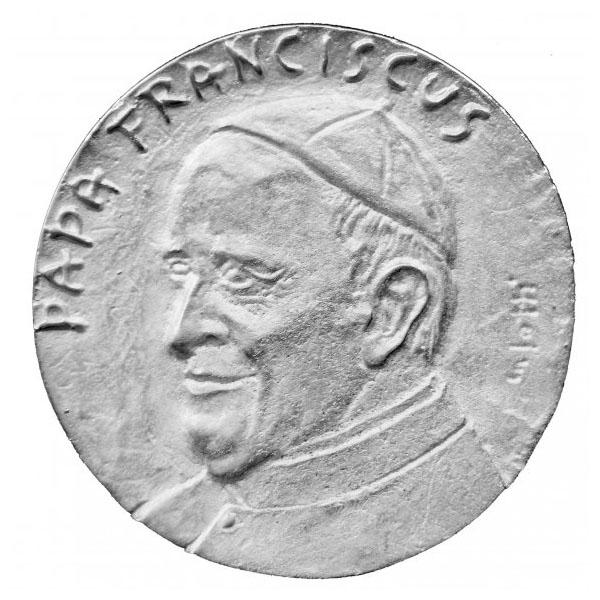 Papa Francesco - Medaglia