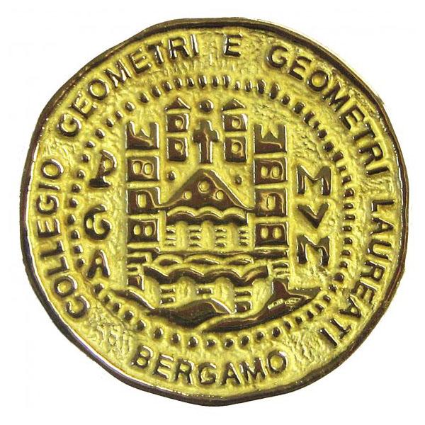 Collegio Geometri Bergamo Medaglia
